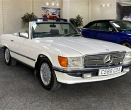 USED 1985 MERCEDES-BENZ SL CLASS 280 SL R107 . + VERY NICE EXAMPLE + CONVERTIBLE 97,630 MI