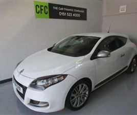 USED 2011 RENAULT MEGANE 1.9 GT LINE TOMTOM DCI 3D 130 BHP COUPE 75,000 MILES IN WHITE FOR