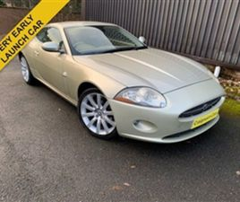 USED 2005 JAGUAR XK 4.2L COUPE 2D AUTO 294 BHP COUPE 72,000 MILES IN GOLD FOR SALE | CARSI