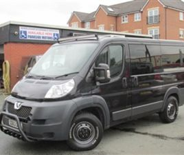 USED 2013 PEUGEOT BOXER CAMPERVAN NOT SPECIFIED 32,000 MILES IN GREY FOR SALE | CARSITE