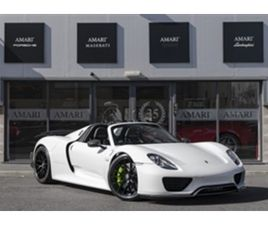 USED 2015 PORSCHE 918 4.6 SPYDER PDK 2DR SEMI AUTOMATIC CONVERTIBLE 2,887 MILES IN PURE WH