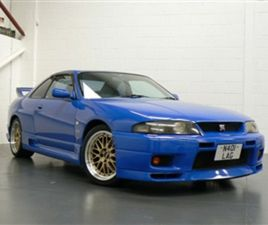 USED 1997 NISSAN SKYLINE R33 GTR - AVAILABLE TO ORDER - JAPANESE IMPORT COUPE 52,000 MILES