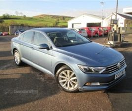 USED 2015 VOLKSWAGEN PASSAT SE TDI BLUEMOTION SALOON 83,000 MILES IN BLUE FOR SALE | CARSI