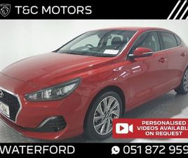 HYUNDAI I30 120 BHP FASTBACK SAT NAV. REAR CAM FOR SALE IN WATERFORD FOR €16,995 ON DONEDE