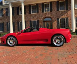 2001 FERRARI 360 SPIDER FOR SALE