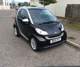 USED 2010 SMART FORTWO 1.0 PASSION MHD 2D 71 BHP COUPE 461,260 MILES IN BLACK FOR SALE | C