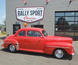 FOR SALE: 1947 FORD 2-DR COUPE IN CANTON, OHIO