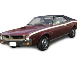 FOR SALE: 1968 AMC JAVELIN IN LAKE HIAWATHA, NEW JERSEY