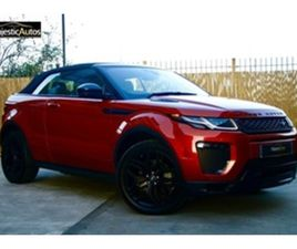 USED 2017 LAND ROVER RANGE ROVER EVOQUE 2.0 TD4 HSE DYNAMIC 3D AUTO 177 BHP CONVERTIBLE 4,