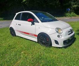 ABARTH 500 1.4 T-JET 135 ABARTH IN WHITE 5 STAMPS OF HISTORY