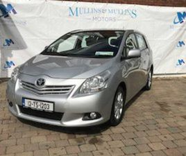 TOYOTA VERSO, 2012 125BHP LUNA - FRESH 2 YEAR NCT FOR SALE IN CORK FOR €9500 ON DONEDEAL