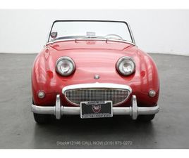 1960 AUSTIN-HEALEY BUGEYE SPRITE IN BEVERLY HILLS, CALIFORNIA
