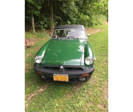 FOR SALE: 1979 MG MGB IN CADILLAC, MICHIGAN