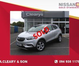 OPEL MOKKA X SC 1.6CDTI 136PS 1 OWNER FOR SALE IN MAYO FOR €15995 ON DONEDEAL