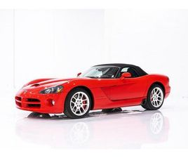 2005 DODGE VIPER SRT-10 - CLEAN TITLE WITH ONLY 11,851KM (7,407MI)