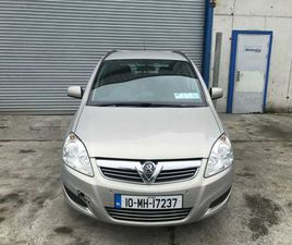 VAUXHALL ZAFIRA,2010 NCT 01/22 FOR SALE IN LOUTH FOR €3,495 ON DONEDEAL