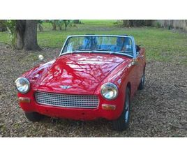 FOR SALE: 1969 AUSTIN-HEALEY SPRITE IN CADILLAC, MICHIGAN
