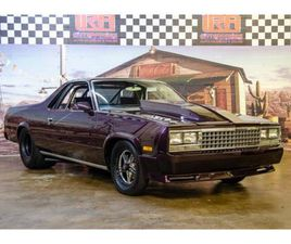 FOR SALE: 1987 CHEVROLET EL CAMINO IN BRISTOL, PENNSYLVANIA