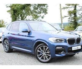 USED 2019 BMW X3 XDRIVE20D M SPORT AUTO NOT SPECIFIED 8,000 MILES IN PHTONIC BLUE FOR SALE