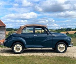 USED 1967 MORRIS MINOR CONVERTIBLE CONVERTIBLE 70,000 MILES IN BLUE FOR SALE | CARSITE