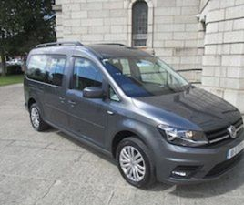 18 VW CADDY MAXI 2.0 DSG W/CHAIR ACCESSIBLE TAXI FOR SALE IN DUBLIN FOR €31000 ON DONEDEAL