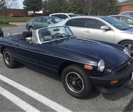 FOR SALE: 1980 MG MGB IN BALTIMORE , MARYLAND