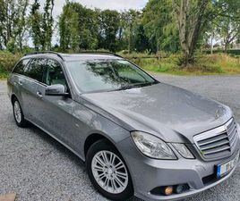 MERCEDES E220 CDI ESTATE FOR SALE IN OFFALY FOR €10,750 ON DONEDEAL