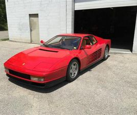 FOR SALE: 1991 FERRARI TESTAROSSA IN DUNDAS, ONTARIO
