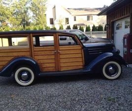 1936 FORD DELUXE STATION WAGON