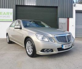 2011 MERCEDES-BENZ E-CLASS E200 CDI FOR SALE IN WEXFORD FOR €10,950 ON DONEDEAL