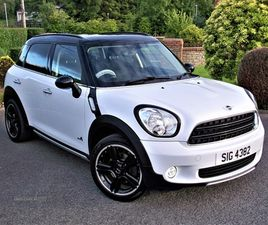 >JAN 2016 MINI COUNTRYMAN 1.6 COOPER D ALL4 5DR