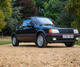 USED 1989 PEUGEOT 205 GTI HATCHBACK 65,000 MILES IN GREY FOR SALE | CARSITE