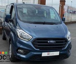 FORD TOURNEO CUSTOM TITANIUM RE - 5 SEATS + WC FOR SALE IN DUBLIN FOR €40,500 ON DONEDEAL