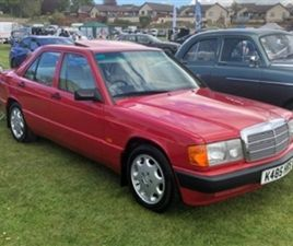 USED 1993 MERCEDES-BENZ 190 190E AUTO E NOT SPECIFIED 78,000 MILES IN RED FOR SALE   CARSI