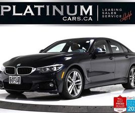 USED 2018 BMW 4 SERIES 440I XDRIVE GRAN COUPE, M-SPORT, AWD, NAV, CAM, BT
