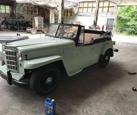 FOR SALE: 1951 WILLYS JEEPSTER IN WEST PITTSTON, PENNSYLVANIA