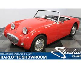 FOR SALE: 1958 AUSTIN-HEALEY SPRITE IN CONCORD, NORTH CAROLINA