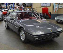 1986 FERRARI 412 412I COUPE