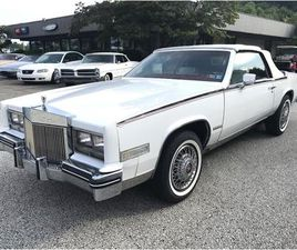 FOR SALE: 1985 CADILLAC ELDORADO BIARRITZ IN STRATFORD, NEW JERSEY