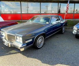 FOR SALE: 1985 CADILLAC ELDORADO IN STRATFORD, NEW JERSEY