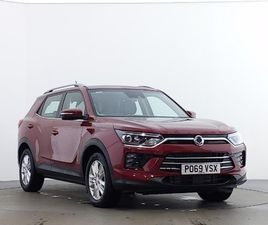 USED 2019 (69) SSANGYONG KORANDO 1.6 D PIONEER 5DR AUTO IN WARRINGTON