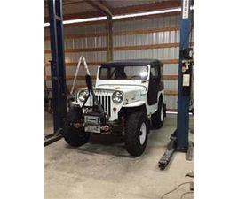 FOR SALE: 1954 WILLYS CJ-3B IN CADILLAC, MICHIGAN