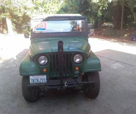 FOR SALE: 1952 WILLYS M38A1 IN CADILLAC, MICHIGAN