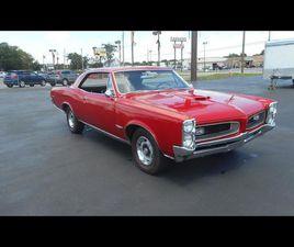 FOR SALE: 1966 PONTIAC GTO IN GREENVILLE, NORTH CAROLINA