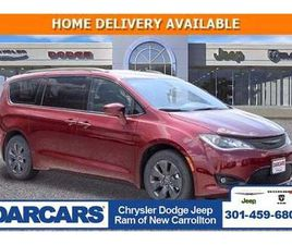 BRAND NEW RED COLOR 2020 CHRYSLER PACIFICA HYBRID TOURING FOR SALE IN NEW CARROLLTON, MD 2