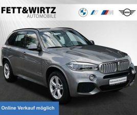 BMW X5 XDRIVE40D SAG 3.SITZREIHE MSPORT KOMFORTS.