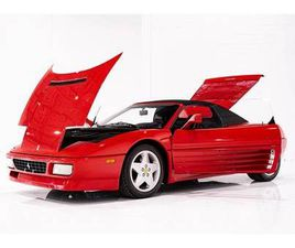 1994 FERRARI 348 SPIDER SERVICE COMPLETED WITH ONLY 12,757KM (7926MI)