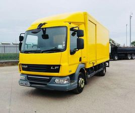2013 DAF 45/210 12TON BOX BODY TAILLIFT FOR SALE IN DOWN FOR €1 ON DONEDEAL