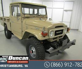 FOR SALE: 1981 TOYOTA LAND CRUISER FJ IN CHRISTIANSBURG, VIRGINIA