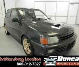 FOR SALE: 1990 TOYOTA STARLET IN CHRISTIANSBURG, VIRGINIA